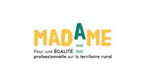 Logo MADAME : Motiver, Accélérer, Développer l'Accès des femmes aux Métiers de l'agro-artisanat pour une Egalité professionnelle sur le territoire rural